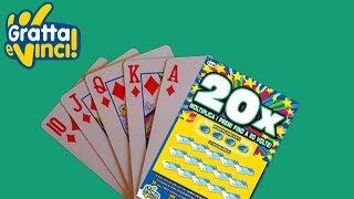 Gratta e Vinci - Facciamo una partita al 20X
