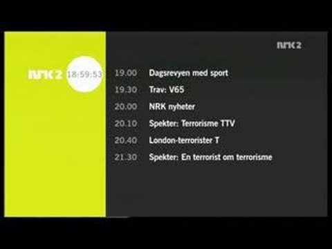 NRK2 programoversikt + Dagsrev...