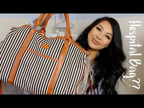 What's in my Hospital Bag? | EVETTEXO