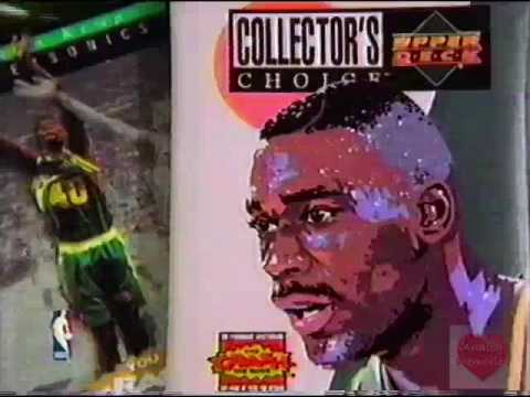 Upper Deck NBA Basketball Collector's Choice Trading Cards Television Commercial 1995