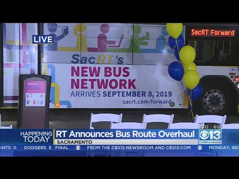 Free Bus, Light Rail Rides On Sac RT Through Wednesday