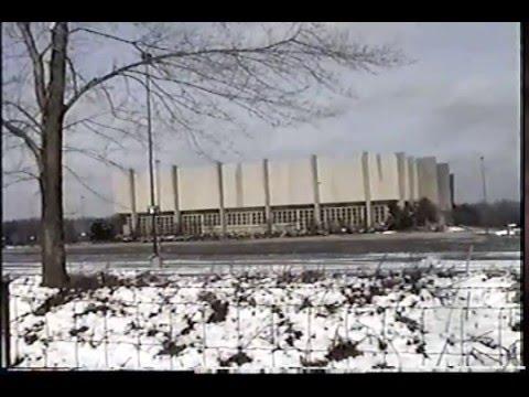 Demolition Of The Richfield Coliseum Cleveland Youtube