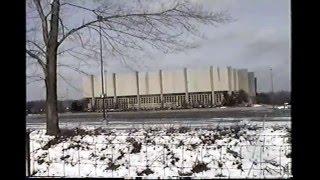 demolition of the richfield coliseum cleveland