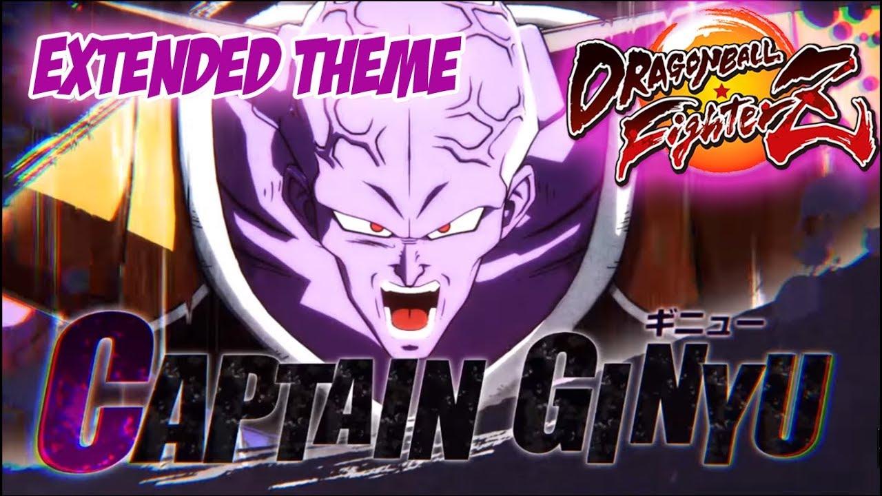 Dragon Ball Fighterz Ost Captain Ginyu Theme Music Extended Dbz Ost Dbfz Soundtrack Youtube