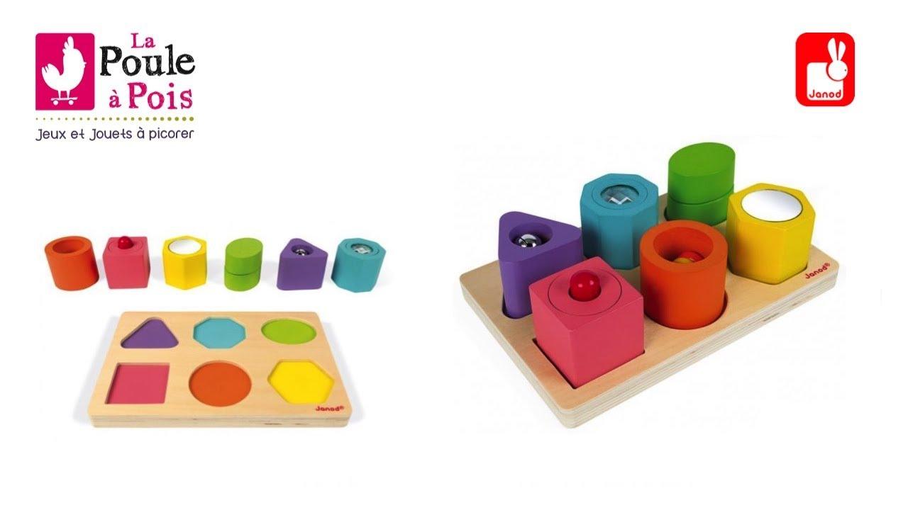 Puzzle Cubes 6 Sensoriels Janod 6 Puzzle wZXOPkuliT