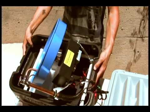 Mama's Minerals - How To Set-up & Use A Gold Miner Spiral Gold Panning Machine