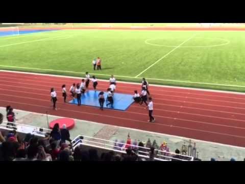 Asia Pacific Smart School Sports Day 2015- Cheerleading Air Strikes!