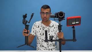 מייצב חשמלי למצלמה!   סיקור Moza Air