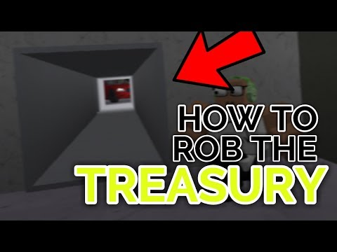 HOW TO ROB THE TREASURY! | Wanted | ROBLOX
