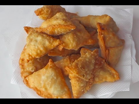 make perfect crispy samosa wrapper/not chewy -- Cooking A Dream
