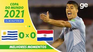 Уругвай  0-0  Парагвай видео