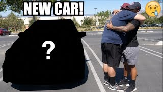 SURPRISING BROTHER with NEW CAR! (Emotional)