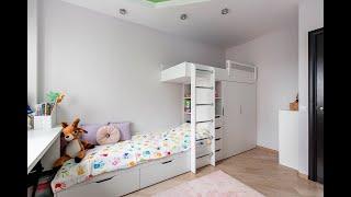 Детская мебель в Минске на заказ МК Эверест. Детская мебель для двоих деток видео-обзор .
