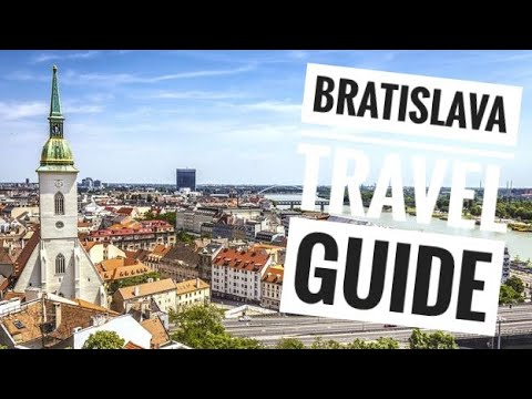 Ταξίδι στη Μπρατισλάβα και αξιοθέατα - Bratislava city tour - Slovakia vlog (English Subtitles)