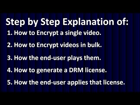 VIDEO PROTECTION SOFTWARE, VIDEO ENCRYPTION SOFTWARE, ANTI-SCREEN CAPTURE SOFTWARE, DRM SOFTWARE