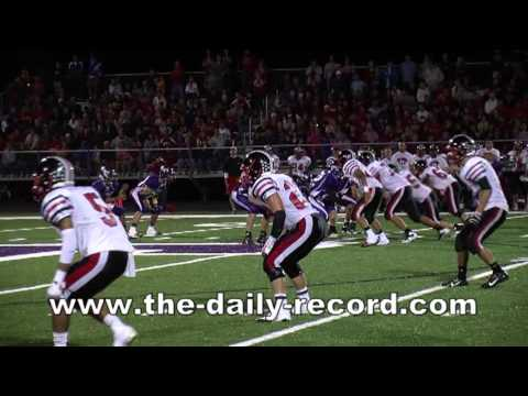 Orrville defeats Triway in Week 2 High School Football Action (2013)