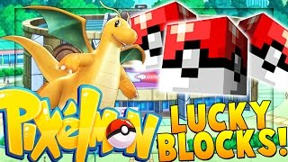 VIKKSTAR PIXELMON LUCKY BLOCK MOD BATTLE | Minecraft - Pixelmon Mod Battle