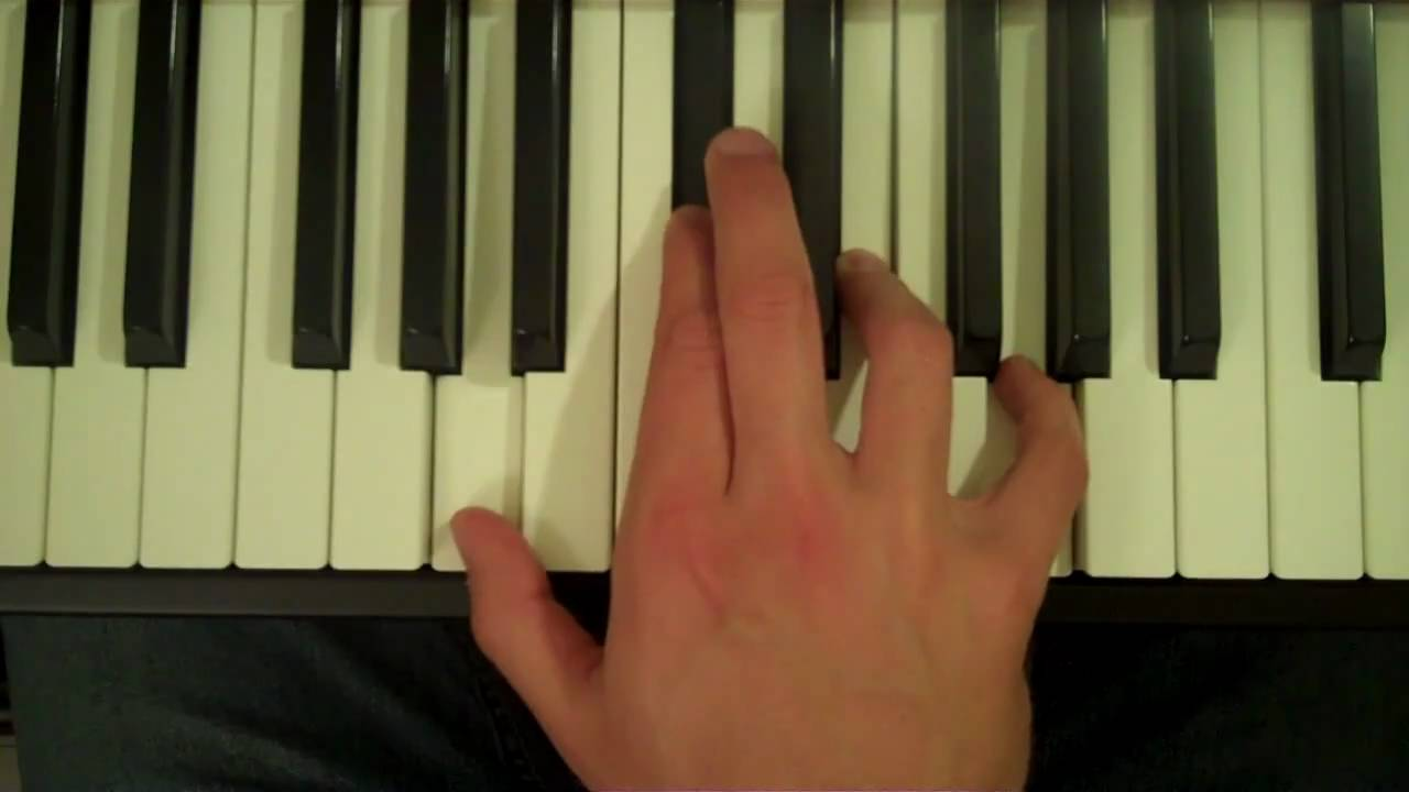 How To Play An A7 Chord On The Piano Youtube Diagram