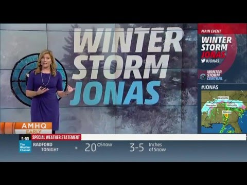 Winter Storm Jonas: 1/22 5am-9am on The Weather Channel