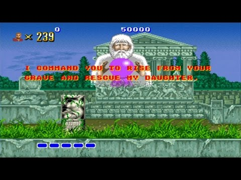 Altered Beast Mega Drive Rise From Your Grave Youtube