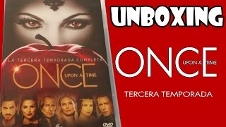 UNBOXING | ONCE UPON A TIME TEMPORADA 3 DVD
