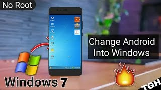 How To Install Windows On Android | Convert Your Android Into Windows PC | Use Your Mobile Like Pc