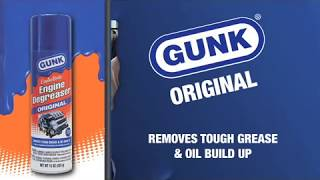 How To Degrease Engine - Original Degreaser(A quick overview of how to use GUNK Original Formula Engine Degreaser., 2010-12-09T15:46:52.000Z)