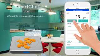 digital kitchen scale that works with fitbit