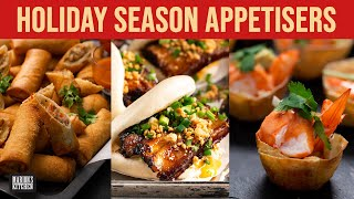 Holiday Season Appetisers...spring rolls, bao \u0026 more! | Marion's Kitchen Classics