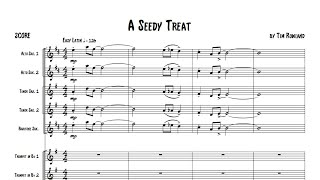 A Seedy Treat for Big Band by Tim Rowland (grade 2.5) Hosenbugler Music