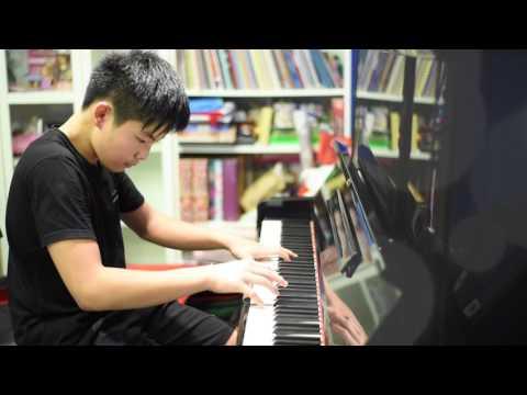 Cha-la Head Cha-la Dragon Ball Z Piano by Ryu