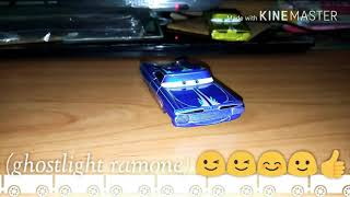 Mattel Disney cars 1 (ghostlight ramone) 😊🙂😃😉🌟