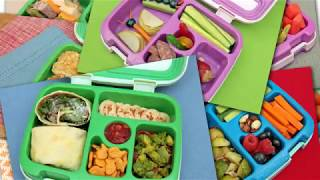 Bentgo Kids Childrens Lunch Box - Bento-Styled Lunch Solution Offers Durable, Leak-Proof