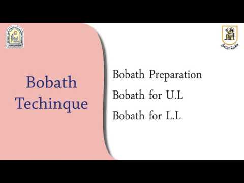 Bobath As Inhibitory Technique Youtube