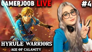 Hyrule Warriors Age Of Calamity Thunderblight Ganon Windblight Ganon Youtube Live Youtube
