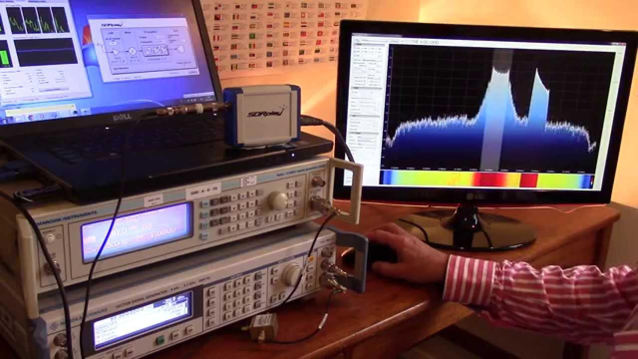 SDRplay RSP FM Dynamic Range Demo