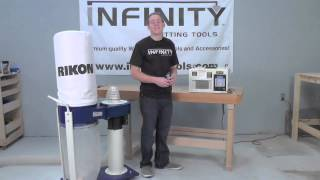 Infinity Cutting Tools - Rikon Dust Collector & Air Filtration System