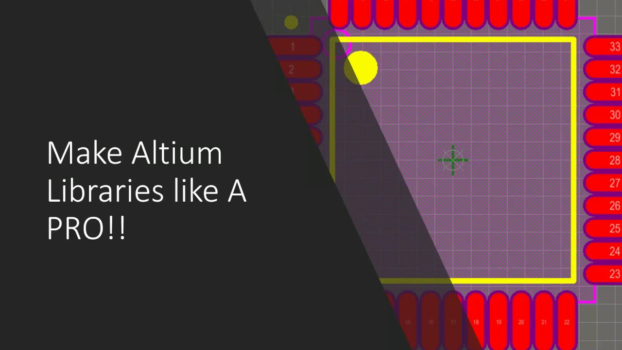 make altium libraries like a pro!! part 1 youtubemake altium libraries like a pro!! part 1