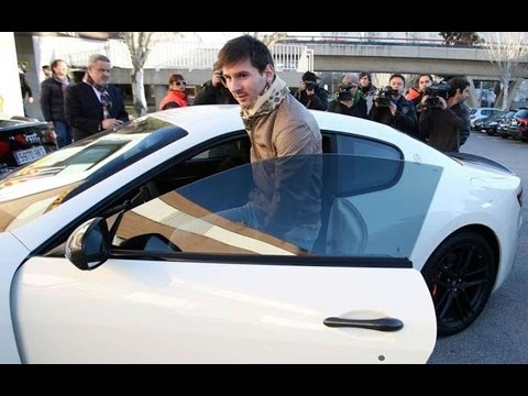 Best Collection Car Lionel Messi Garage Youtube