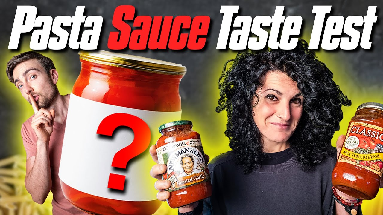 An Italian Reviews Pasta Sauce | Blind Tomato Sauce Taste Test
