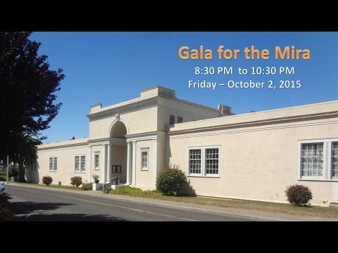 Gala for the Mira Live Stream - Oct 2, 2015 at 8:30 PM
