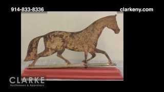 Vintage Item   Antique Weathervane   Auction Results