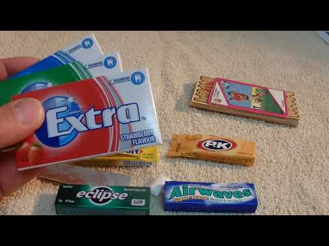 ASMR - Chewing Gum - Australian Accent - Showing And Describing Chewing Gum In A Quiet Whisper
