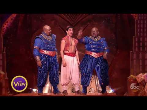 Aladdins Genie James Monroe Iglehart Performs Friend Like Me  The View
