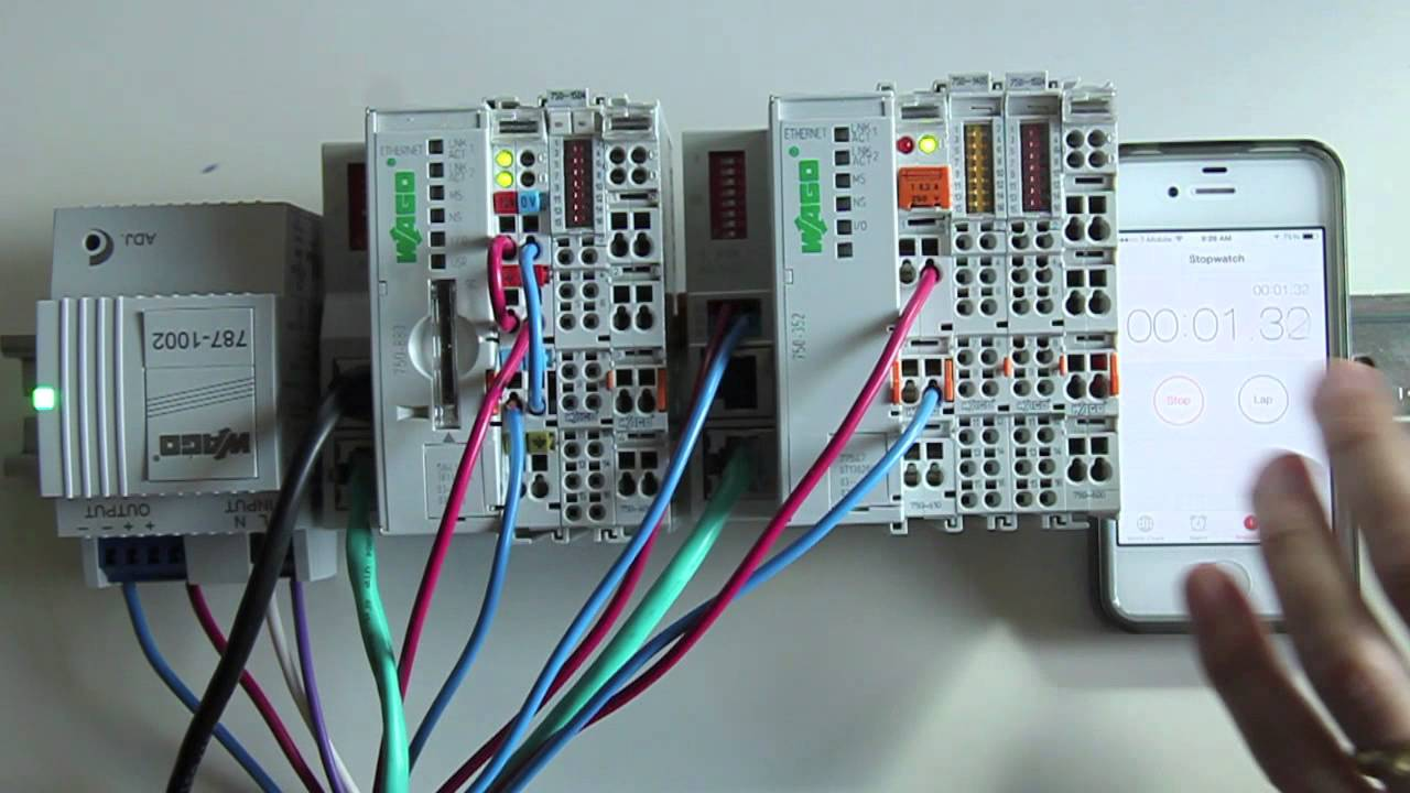 home wiring guide free pdf wago 750 880 plc bootup speed youtube  wago 750 880 plc bootup speed youtube