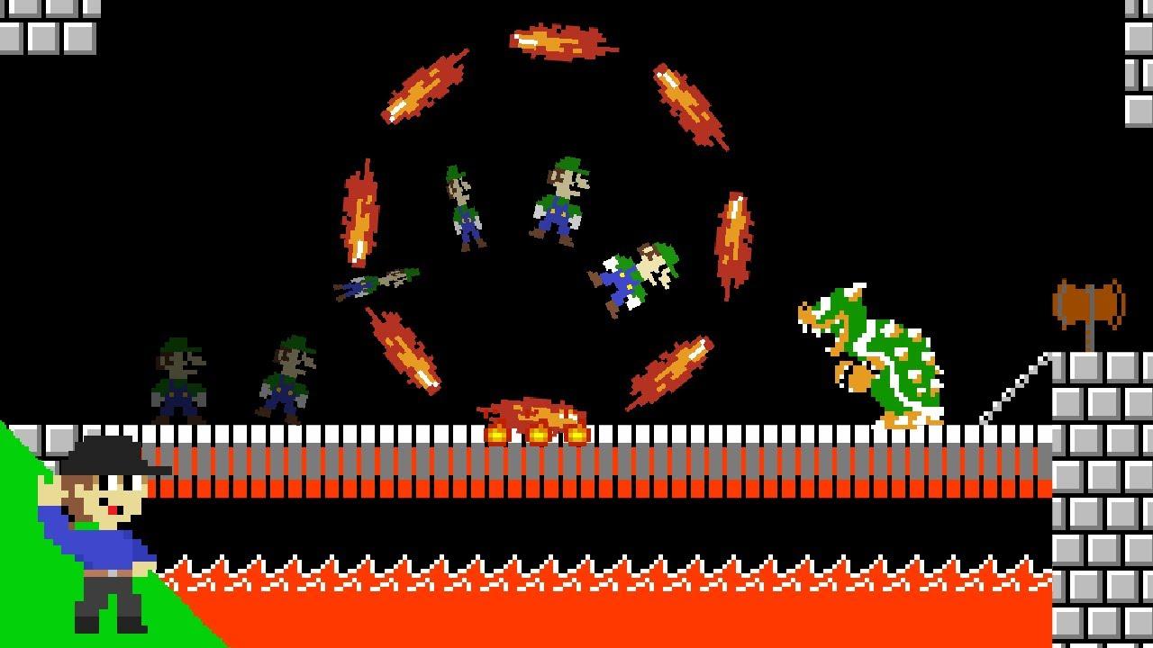 Level UP: Luigi vs Impossible Mode Bowser