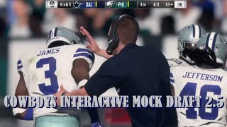 COWBOYS INTERACTIVE MOCK DRAFT 2.5: Watch The Players You Chose In Action! *LATE NIGHT WC SPECIAL...