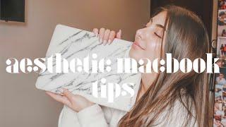 How To Have An Aesthetic Macbook | Tamarah Gabriella