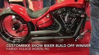 BIKER BUILD-OFF WINNER CUSTOMBIKE - SHOW 2017 Harley-Davidson Breakout