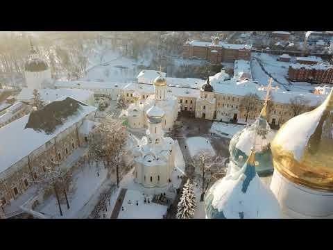 Сергиев Посад зимой, рассказ